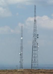 site mast.
