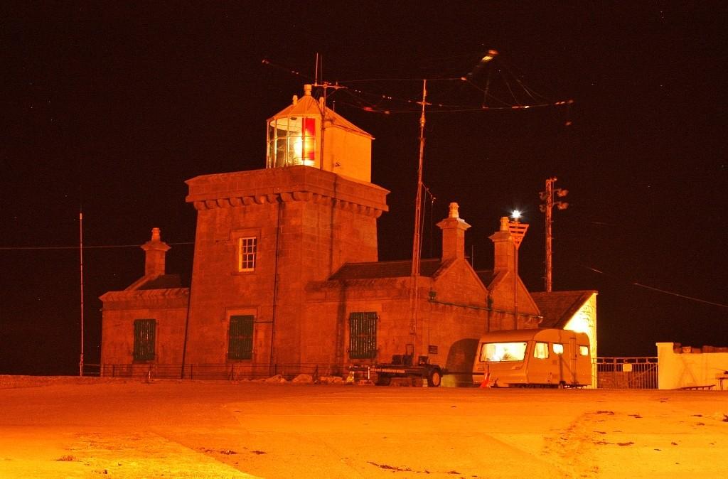 Blacksod lighthouse, 'Burning the midnight oil' 2015