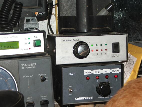 Remote antenna switch | Mayo Radio Experimenters Network